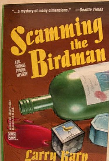Scamming The Birdman Paperback Cover
